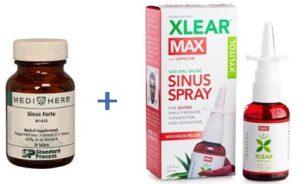 Sinus Forte & Xlear Max